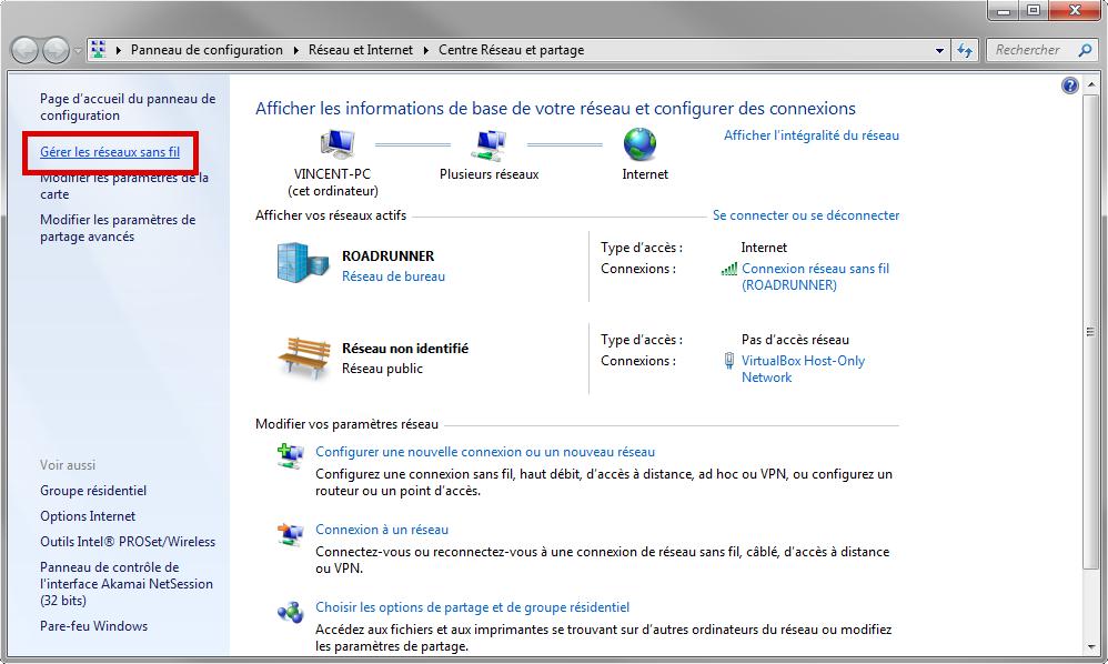Gérer les réseaux sans fil (Wi-Fi) sous Windows