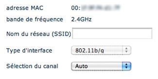 Configurer le Wi-Fi Bbox