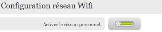 Désactiver ou réactiver le Wi-Fi sur la Freebox V6
