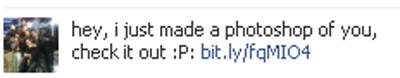 Ne cliquez pas sur ce genre de message indésirable Facebook