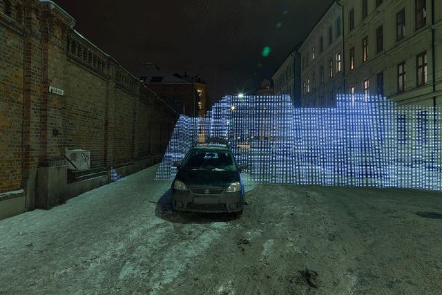 Un mur de brique suffit à créer une zone d'ombre sur un signal Wi-Fi
