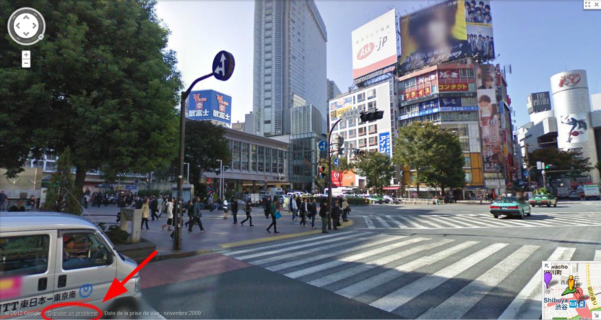 Comment signaler une photo sur Google Street View
