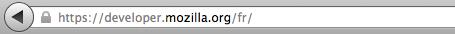 Le favicon des sites jouissant d'un certificat SSL classique