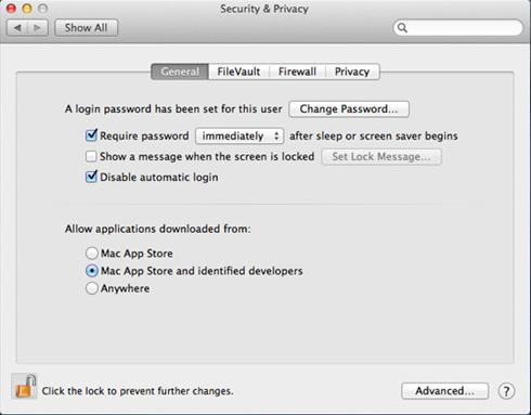 Gatekeeper, le gestionnaire de sécurité de Mac OS X Mountain Lion (10.8)