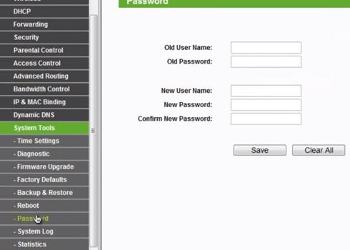 Comment changer le nom d'utilisateur et le mot de passe d'accès au routeur TP Link