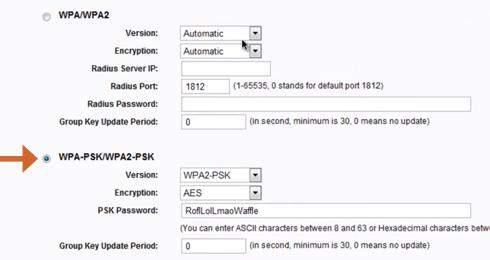 Comment sécuriser le réseau WiFi d'un modem / routeur TP Link (clé de cryptage)