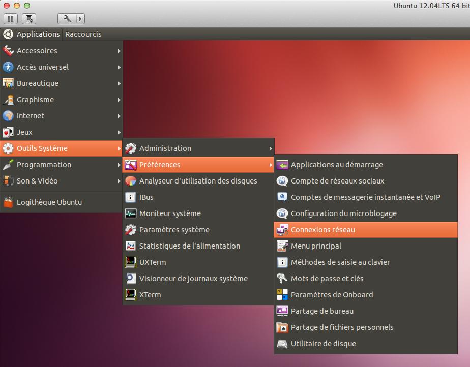 Comment accéder aux connexions réseau sous Ubuntu