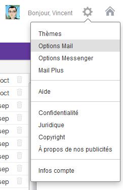 Comment accéder aux options Mail de Yahoo