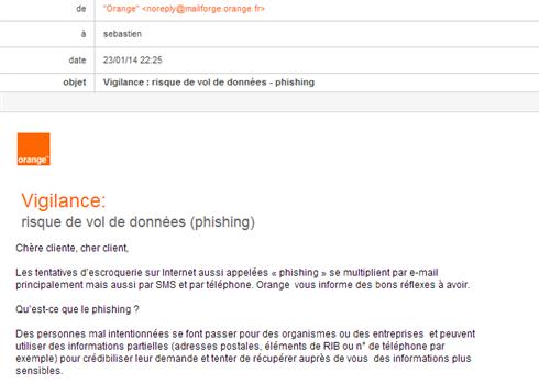Risques de phishing : restez vigilant lorsque vous consultez vos e-mails