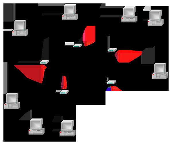 Internet, un réseau de réseaux