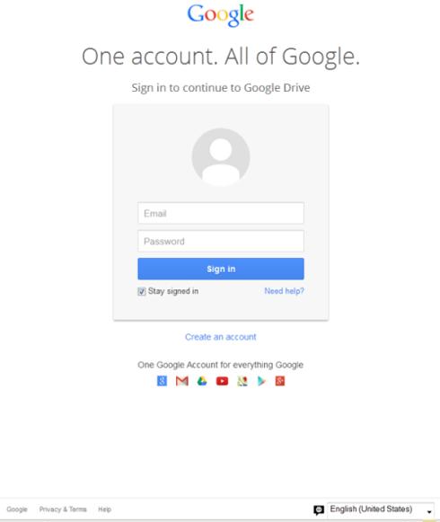 Ceci n'est pas une page d'identification Google...