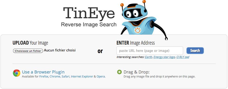 TinEye, l'annuaire inversé pour les images web !