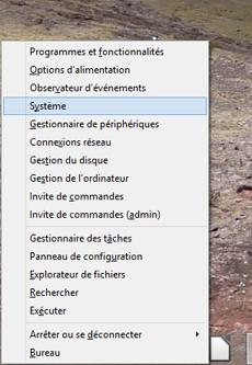 Comment accéder au système Windows 8