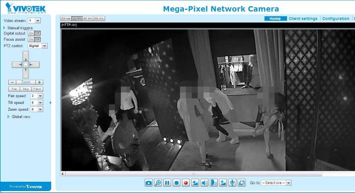 Les images de cette caméra de surveillance installée dans une boîte de nuit sont accessibles à tous via Internet...