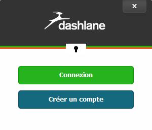 Créer un compte Dashlane est obligatoire