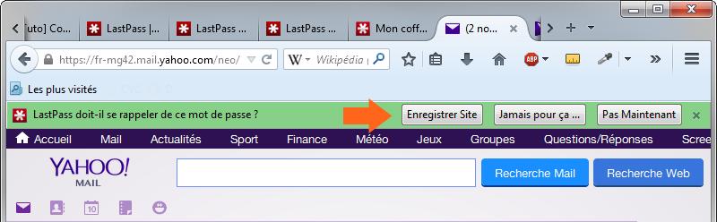 Utilisez LastPass plutôt que votre navigateur pour enregistrer vos mots de passe : ils seront plus en sécurité ainsi !